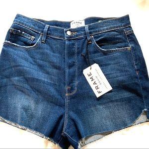 Frame Ultra high waisted shorts - Le Original NWT